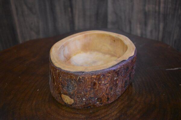 کاسه آجیل خوری چوبی