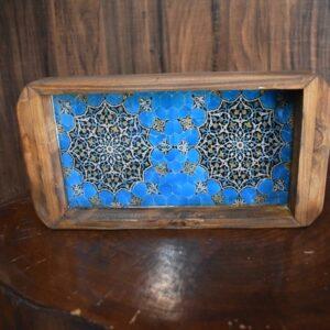 سینی چوبی رزینی