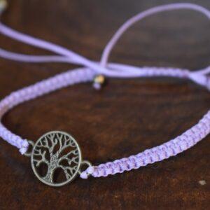 دستبند ظریف طرح درخت زندگی