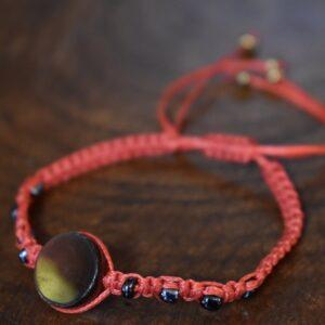 دستبند ظریف طرح رزین